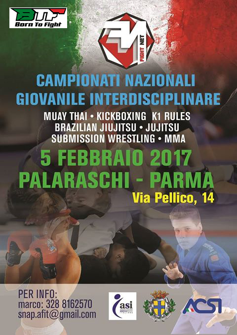 camp giovanile Fight NET